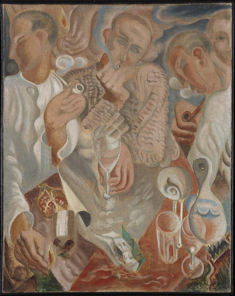 The Smokers, André Masson